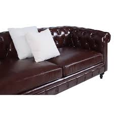 chesterfield leather sofa used chesterfield leather sofa singapore centerfieldbar com