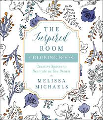 Home Design Book Amazon Com The Inspired Room Coloring Book Creative Spaces To