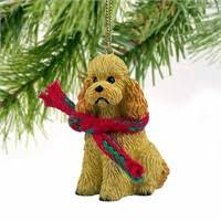 poodle ornaments by yuckles