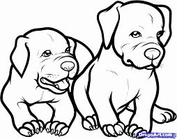 pitbull puppies coloring pages coloring home