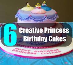 6 creative princess birthday cakes ideas for princess birthday
