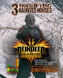 haunted house in dallas texas reindeer manor in dallas texas