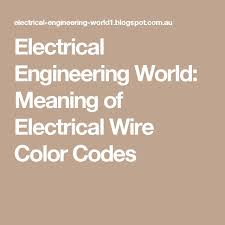 25 unique electrical wiring colours ideas on pinterest
