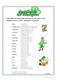 30 free esl word scramble worksheets