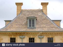 cotswold stone building with dormer roof windows at longborough