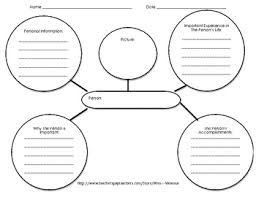 writing a biography graphic organizer biography writing outline teaching resources teachers pay teachers