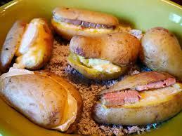 cuisiner pommes de terre recette land recette de pommes de terre au four au foie gras sur