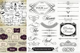 menu frames borders templates vector free download u2013 vectorpicfree