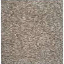 Large Jute Area Rugs Gray Square 7 U0027 And Larger Jute Area Rugs Rugs The Home Depot