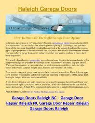 Overhead Garage Door Opener Parts by Garage Doors Insulated Garage Doors Raleigh Nc Door Parts All