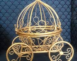 princess carriage centerpiece etsy your place to buy and sell all things handmade