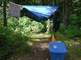 Ideas For Hanging Backpacks My Awesome Backpacking Camp Setup Checklist 4 Steps With Pictures