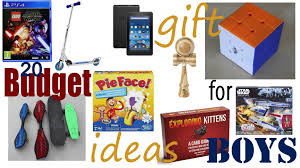 20 good budget gift ideas for boys 2016 mommy high five
