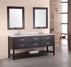traditional bathroom vanity designs dark brown varnished wooden