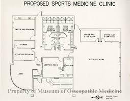 clinic floor plan 2004 98 proposed sports medicine clinic floor plan