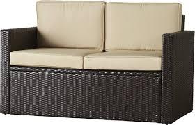 All Weather Wicker Loveseat Mercury Row Belton Loveseat With Cushions U0026 Reviews Wayfair