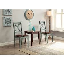better homes and gardens maddox 5 piece dining set blue and mocha