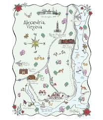 Virginia Wineries Map by Maps And Totes U2013 Laura Hooper Calligraphy