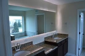 bathroom mirror with lights behind marvelous bathroom mirrors lights behind 13 master bath 15625 home
