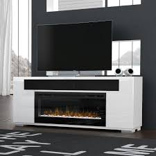 dimplex prism haley 76 inch electric fireplace media console