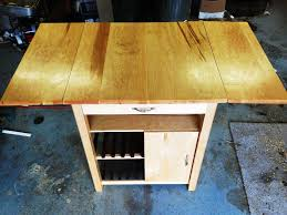 movable kitchen island with drop leaf furniture decor trend