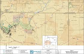 Map Of New Mexico And Colorado by Fact Sheet Economic Impact Study Of Uranium Mining On Coconino