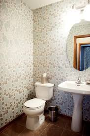 wallpaper for bathroom ideas modern bathroom design and decorating with wallpaper
