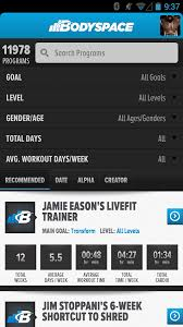 fitness tracker app for android bodyspace social fitness app android apps on play