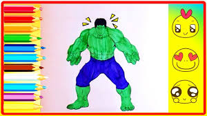 hulk coloring pages for kids part 1 hulk coloring pages fun