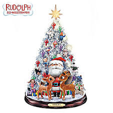 painted rudolphs jolly tabletop musical light up