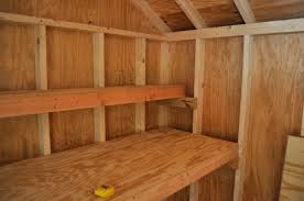 Building Wood Shelf Garage by How To Build Shed Storage Shelves One Project Closer