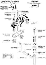 american standard kitchen faucet parts diagram impressive design parts of a bathroom sink faucet american