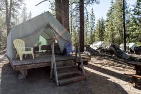 tent cabin stunning tent cabins near shoreline of lake in high sierra
