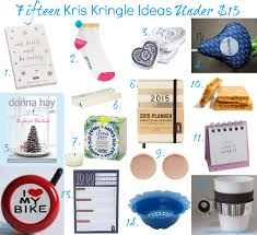 15 kris kringle ideas under 15 for christmas 2014 style