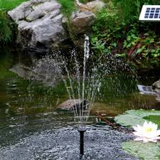 Solar Powered Water Features With Led Lights by How Does A Solar Powered Fountain Work