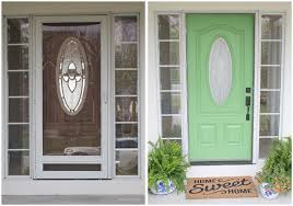 painted front door front door painting for instant curb appeal before and after
