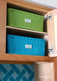 Storage In Kitchen Cabinets by Storage Ideas For Little Upper Cabinets The Homes I Have Made