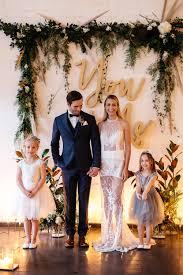 mixed metals wedding inspiration ruffled