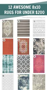Where To Find Cheap Area Rugs 12 Cheap Area Rugs For 200 C R A F T