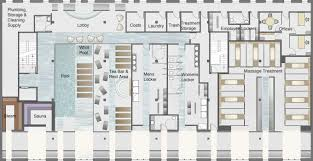 beautiful spa floor plan design in home decorating ideas with
