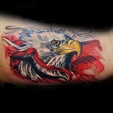 90 patriotic tattoos for men nationalistic pride design ideas