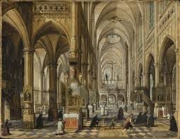 Cathedral Interior Interior Of A Gothic Cathedral Lacma Collections