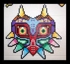 bead mask majora s mask perler by maypoman on deviantart