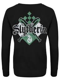 Harry Potter House by Harry Potter House Slytherin Ladies Black Sweatshirt Buy Online