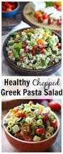 chopped greek pasta salad dishing out health