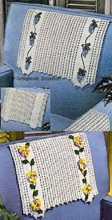 Crochet Armchair Covers Chair Back Cover Patterns Patterns For You