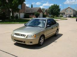 2002 hyundai accent sedan used 2002 hyundai accent gl sedan in houston tx near 77084