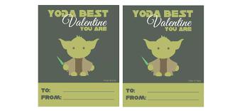 yoda valentines card yoda card gift ideas
