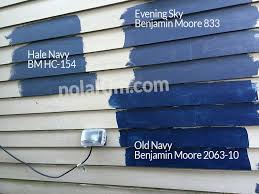 our dark paint swatches from benjamin moore hale navy hc 154