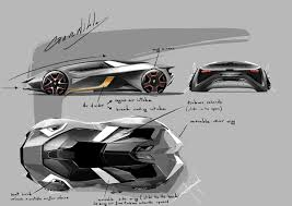 lamborghini aventador sketch lamborghini diamante concept on behance
